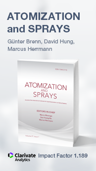 Atomization and Sprays