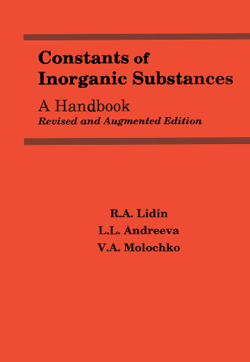 Constants of Inorganic Substances