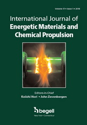 International Journal of Energetic Materials and Chemical Propulsion