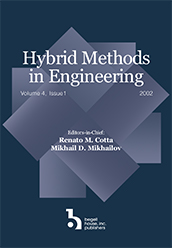 Hybrid Methods in Engineering